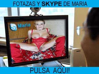 pulsa aqui para ver fotazas, video gratis de maria y conectarte a su skype