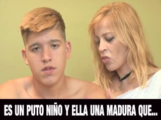 El ni�o virgen y una Madura experimentada: esto es una�Pulsa Aqui!