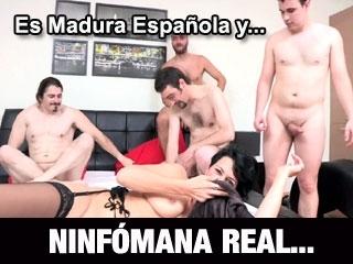 Asi fue la  nueva quedada de Bruno y Maria con con esta NUEVA Madura multiorgasmica REAL