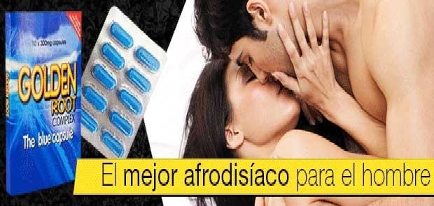 Afrodisiaco Golden Root para el Hombre. 100% Eficaz y 100% Natural y Sin efectos secundarios