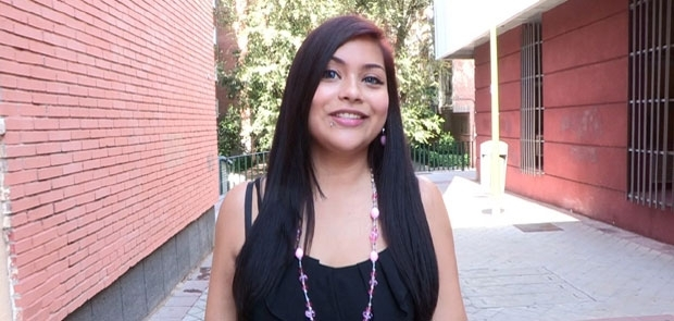 CITA A CIEGAS: Carol, Mu�equita de 21 a�os Follada a lo Bestia por un Maduro de 41