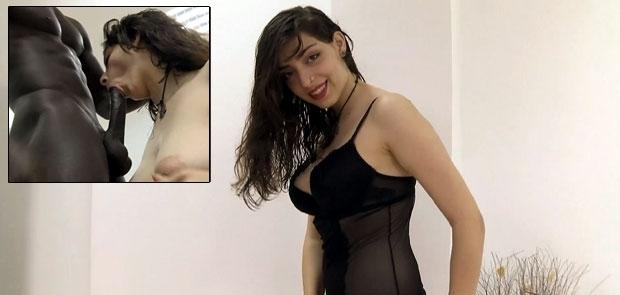 Hechos reales: A la joven Lina le DESVIRGAMOS EL CULO con un RABAZO NEGRO