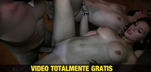 VIDEO TOTALMENTE GRATIS DE 35 MINUTOS. Trio Brutal de SOL, bryan y Nadia...Mamadas, Anal y Folladas..Ufff