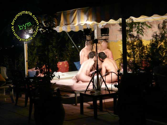 Al aire libre pareja exhibicionista video amateur gratis